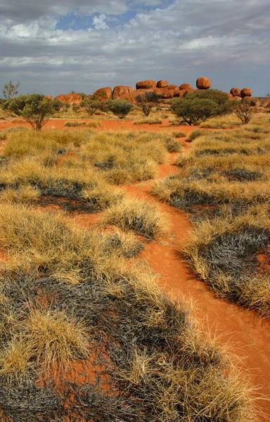 marble devils - outback australie