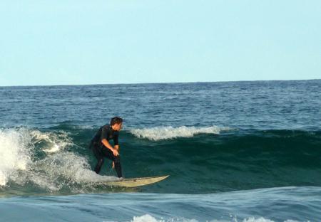 surfeur a manly beach
