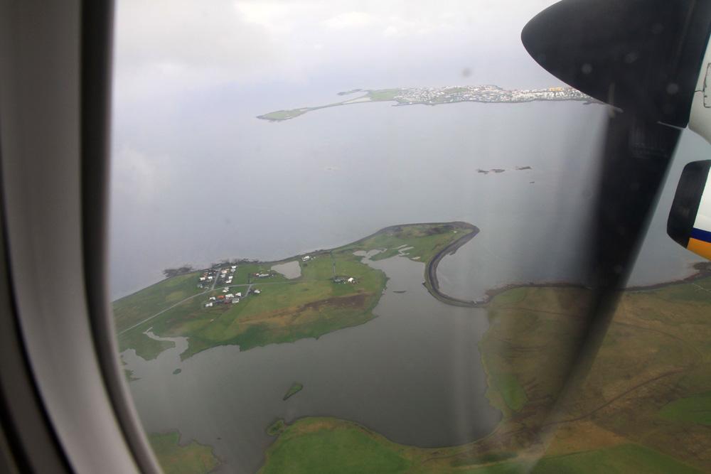 Décollage de Reykjavik