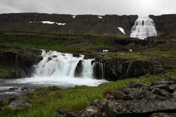 L'impressionnante cascade de Dynjandi